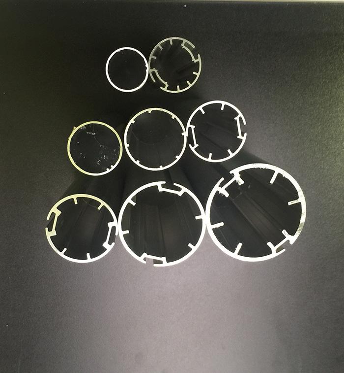 assorted alluminium roller blind tubes