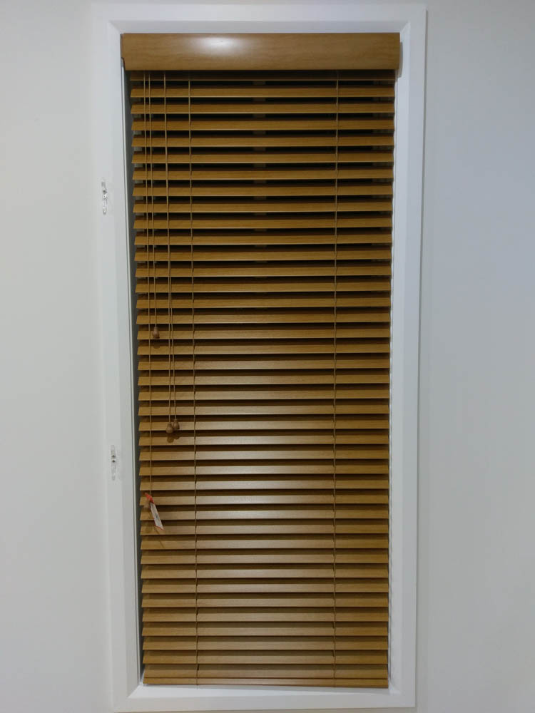 Flush Fitment Faux Timber Venetian Blinds