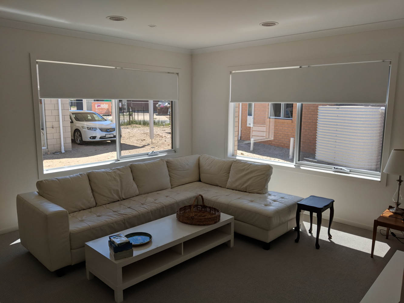 Point Lonsdale Lounge Room Roller Blinds