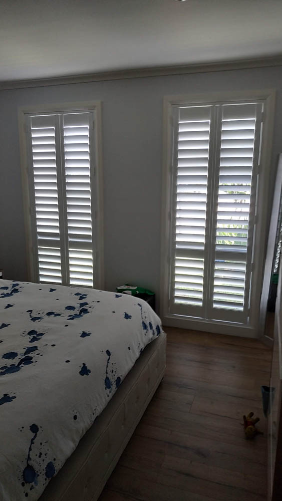 White Plantation Shutters installed in Craigieburn