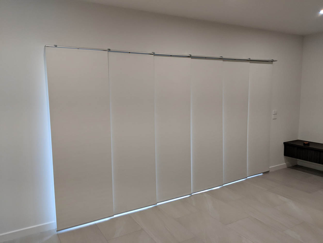 Custom Made Panel Glide Blinds