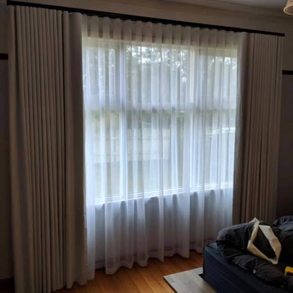 Tracked S Fold Curtains - Albion Project